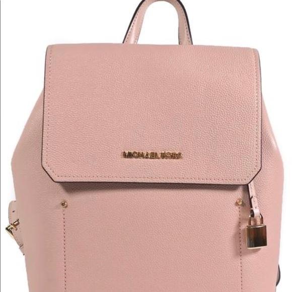 88c81f31f7ce0d MICHAEL Michael Kors Bags | Michael Kors Medium Leather Backpack ...